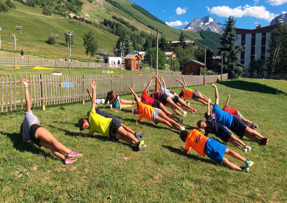 Stages de verano con Copos Skiclub
